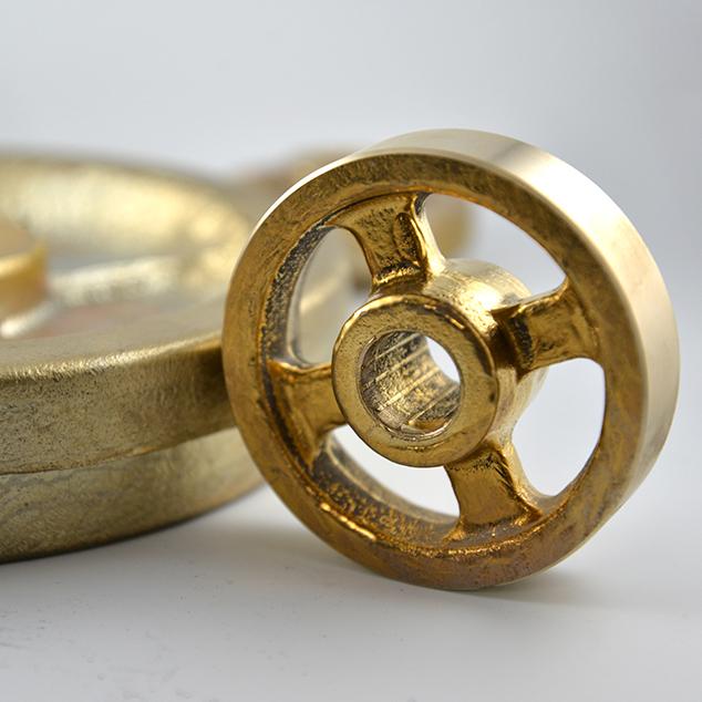 ruota con fusione a conchiglia