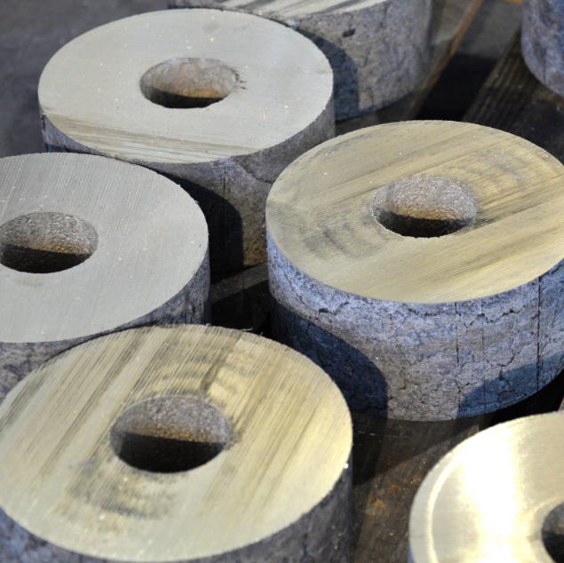 tubi centrifugati in bronzo