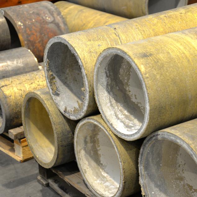 tubi in bronzo centrifugati